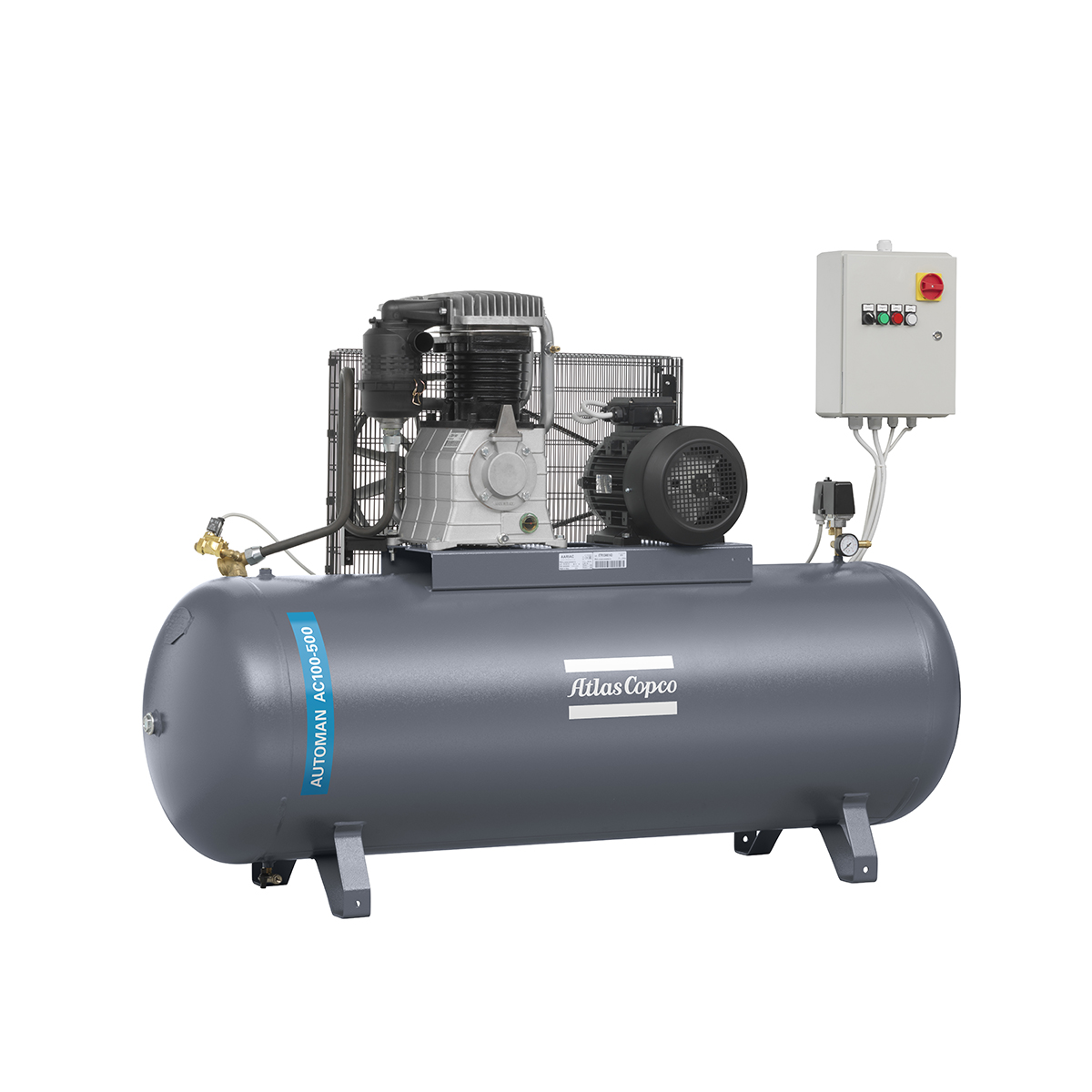 Piston Air Compressors - 7.5kW Piston Air Compressor AC100E500