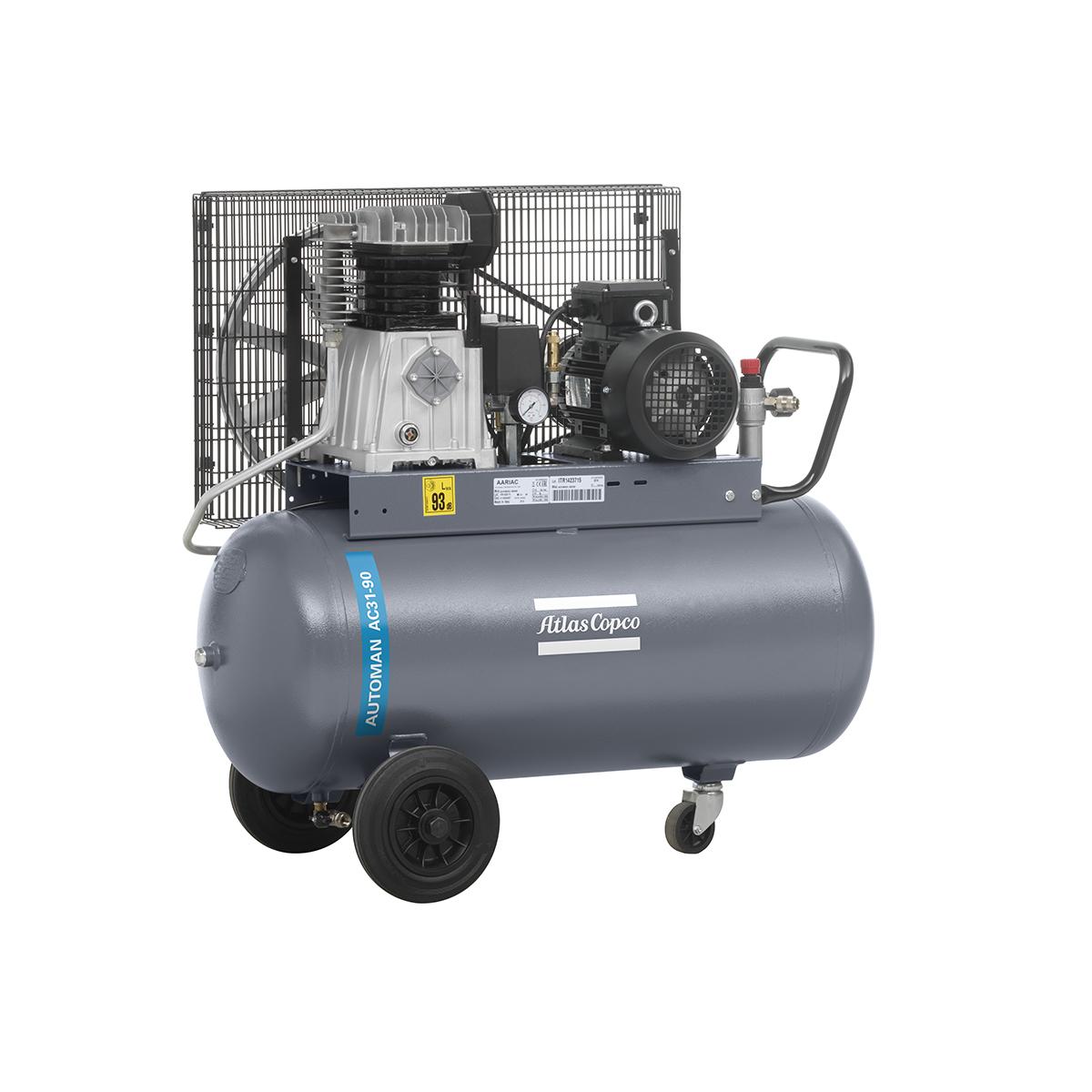 Piston Air Compressors - 2.2kW Piston Air Compressor AC31E90