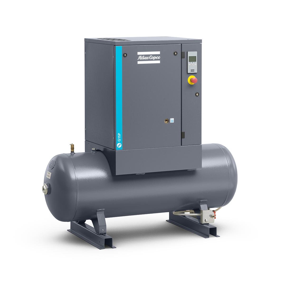 Screw Air Compressor - Model 15kW Screw Compressor G15P 10 BAR