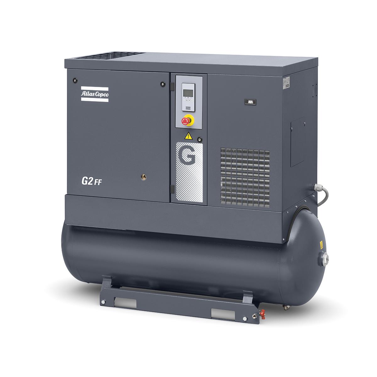 Screw Air Compressor - Model 2.2kW Screw Compressor G2FF 10 BAR