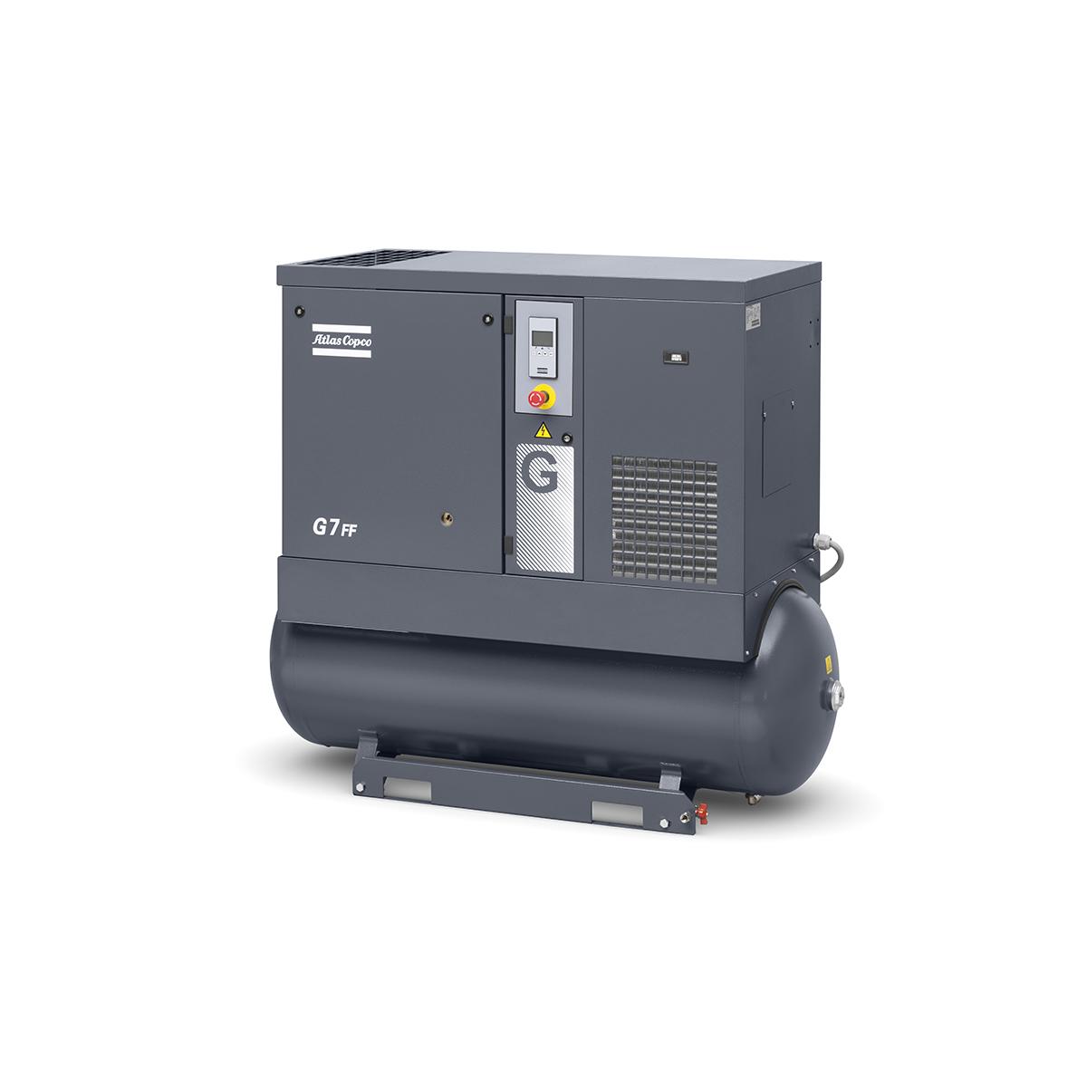 Screw Air Compressor - Model 7kW Screw Compressor G7FF 8 BAR