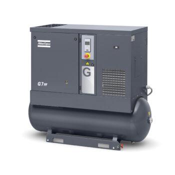 Screw Air Compressor - Model 7kW Screw Compressor G7FF 10 BAR